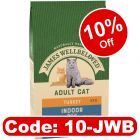 James Wellbeloved Adult Cat Indoor - Turkey